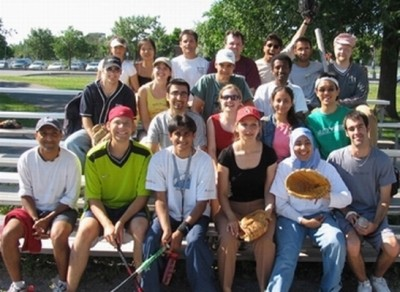 2006 baseball group shot with Willmore and Smith labs-5