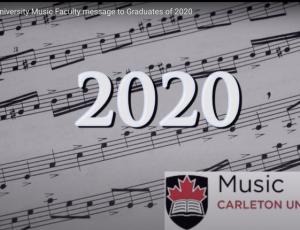 View Quicklink: Carleton Music Graduates