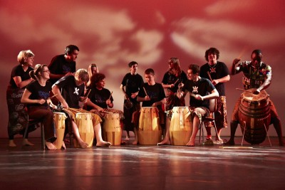 Gahu Drummers, music, university, program, BMUS, music school,