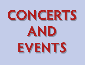 View Quicklink: Concerts and Events!