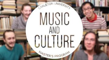 Thumbnail for: Music and Culture Master's Program