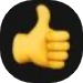Zoom thumbs-up icon