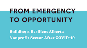From the Calgary Chamber of Voluntary Organizations (July 2020): The report notes that it's not too late for organizations to develop an emergency plan or to take stock of how their plan is working and make adjustments. And the report is full of details for emergency preparation and response (preparing workplaces, establishing partnerships, informing and empowering staff, building redundancy and back-ups, fundraising, etc.)