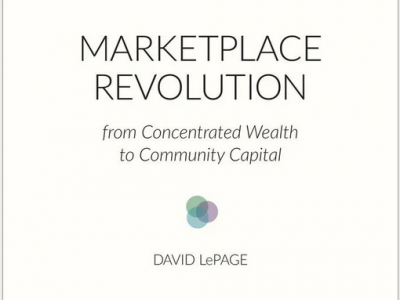 """Photo for the news post: Review of David LePage's Book """"Marketplace Revolution"""""""