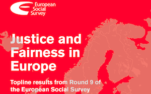 In 2020, the European Social Survey (ESS) published a report on Justice and Fairness in 27 European countries and an online analysis tool that provides source data used in the report. These are part of Perceptions of Inequalities and Justice in Europe, located at the German Institute for Economic Research. The data covers respondents' attitudes toward their societies and political systems, their prospects in society, and their beliefs about equity. Data documentation includes required weighting mechanisms, response rates by country, and notes on data usage.