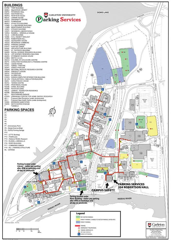 Parking Map - Parking Services