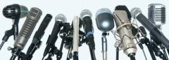 bunch of microphones