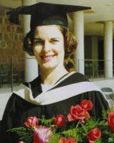 Pat Whitehead on Graduation Day