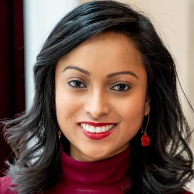 A photo of Alina Shams, a Carleton University Political Science Alumni