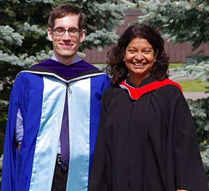 Christopher Miller and Prof. Christina Gabriel