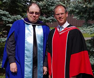 Matthew Thompson and Prof. Jonathan Malloy