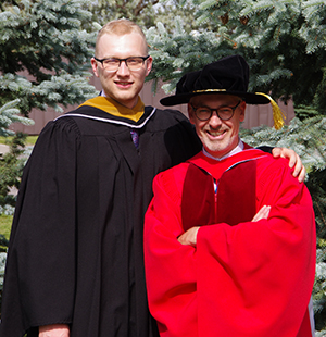 Peter Brown and supervisor Randall Germain