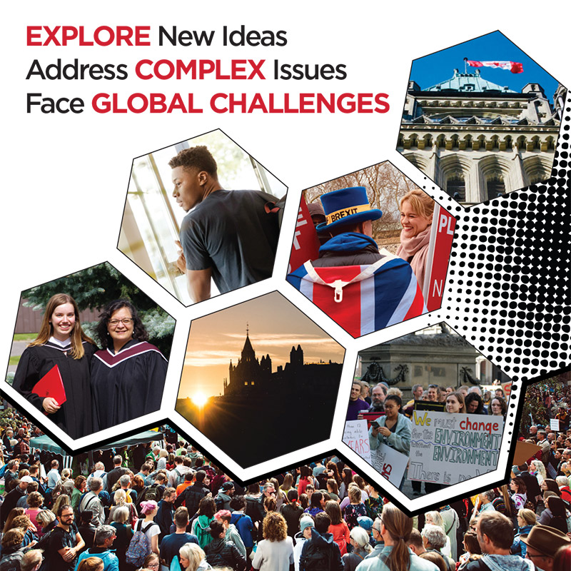 Explore Complex Global Challenges in Political Science at Carleton University in Ottawa.