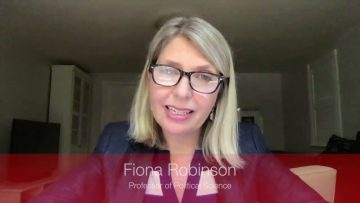 Thumbnail for: Professor Fiona Robinson on our First Year Seminar (FYSM) courses