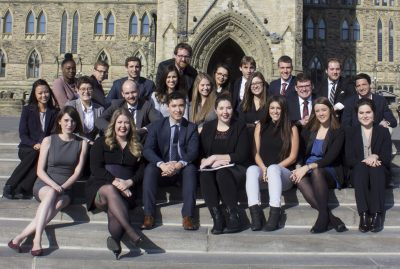 Class of 2017 at Parliament Hill
