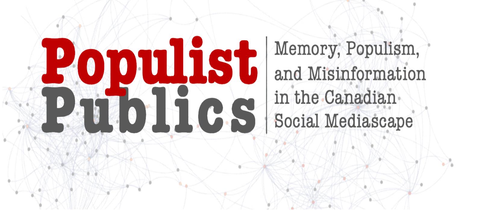 Banner image for Populist Publics