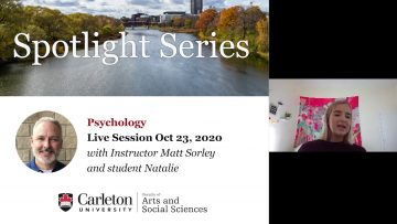 Thumbnail for: Program Spotlight: Psychology