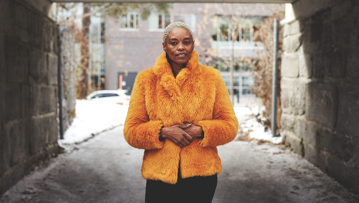 Novelist and master's student Kagiso Lesego Molope embodies the diversity and strength of Carleton.