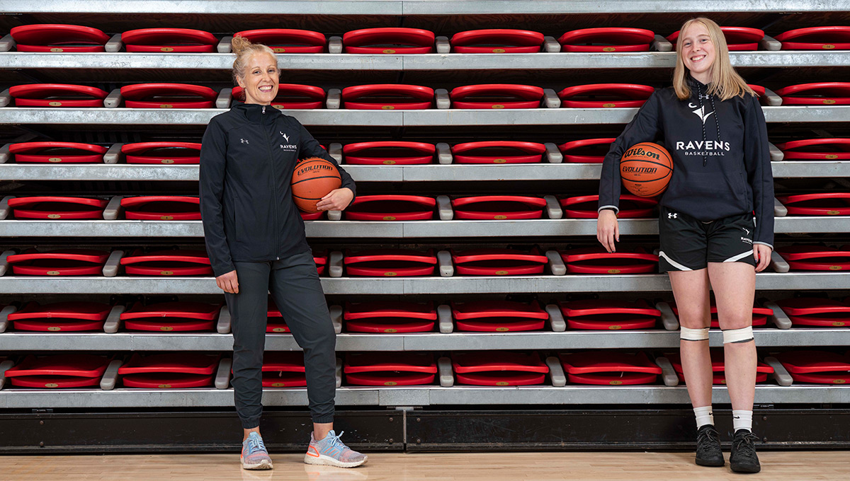 Practice Makes Perfect: Carleton's new women's basketball coach, Dani Sinclair, prepares for the uncertain schedule ahead