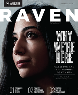 Artwork for Raven Magazine, Issue No. 1, Winter 2020