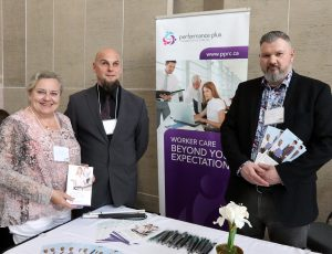 Performance Plus Representatives at their booth at Enable 2019 Event