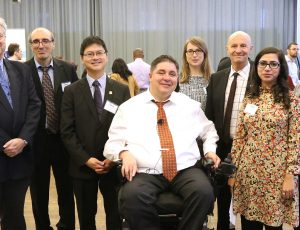 Minister Kent Hehr with the Symposium speakers