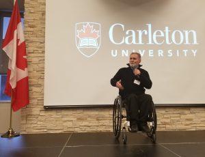 Dean Mellway speaking at the READi Symposium
