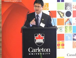 Dr Adrian Chan, director of the READi program speaking