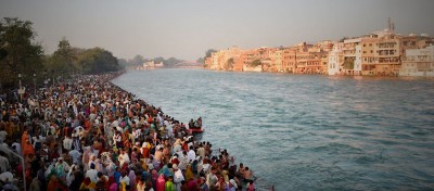 Celebrating Kumbh Mela at the Ganges