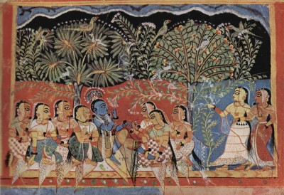 Krishna in the Gita Govinda