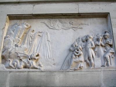 Grave, Père Lachaise Cemetery, Paris