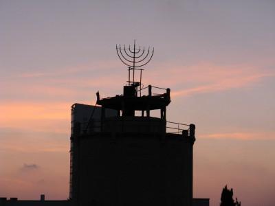 Menorah antenna, Israel