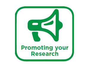 View Quicklink: Promoting Your Research