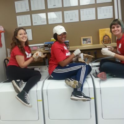 Day 18: It is always laundry day when you volunteer with the Community Laundry Cooperative.