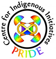Centre for Indigenous Initiatives Pride Logo