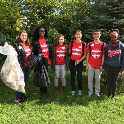 Day 15: Carleton is always looking better when students volunteer with Clean Up the Campus.