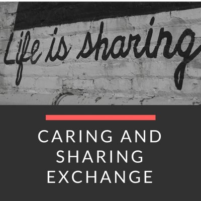 Day 47: Caring and Sharing Exchange.