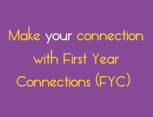 View Quicklink: Make an impact! Be a First Year Connections Mentor