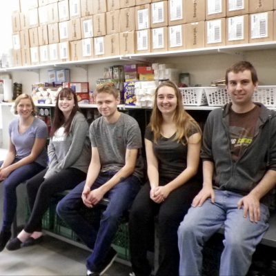 Day 28: A team of students served at Dalhousie Food Cupboard on October 6, 2016.