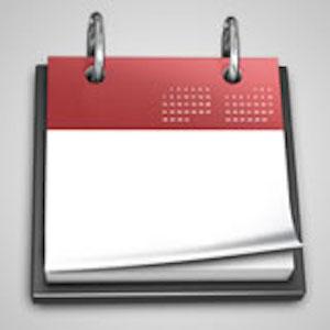 abstract calendar icon