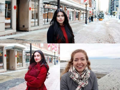 Photo for the news post: Joan Donaldson scholarships awarded to three journalism students