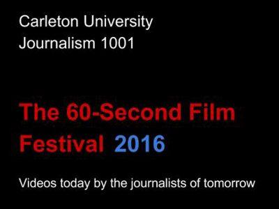 60 Second Film Festival Poster