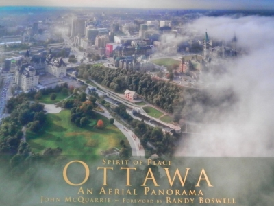 Photo for the news post: Boswell writes foreword to aerial history of Ottawa