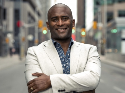 Photo for the news post: Award-winning CBC Ottawa anchor Adrian Harewood to join Carleton's journalism faculty