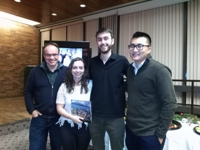 Photo for the news post: J-School writers contribute to Capital Builders book
