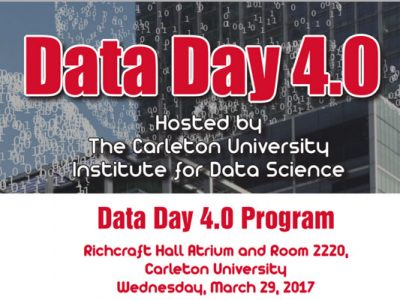 Photo for the news post: Critical Data Studies MA Students Present Posters at Data Day 4.0