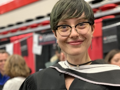 Photo for the news post: Journalism grad awarded University Medal