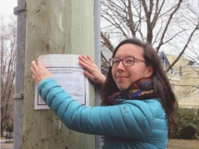 Photo for the news post: J-School alum spearheads community network to counter COVID-19 isolation