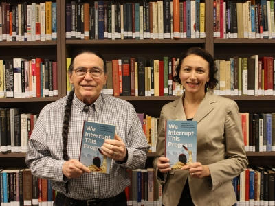 Photo for the news post: Miranda Brady and John Kelly publish book on Indigenous media tactics