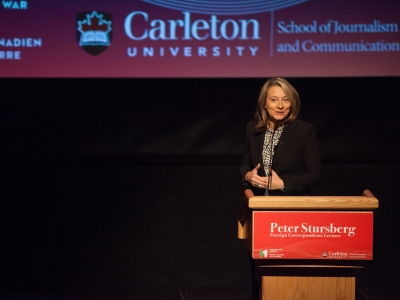 Photo for the news post: A recap of the third annual Peter Stursberg Lecture with Adrienne Arsenault